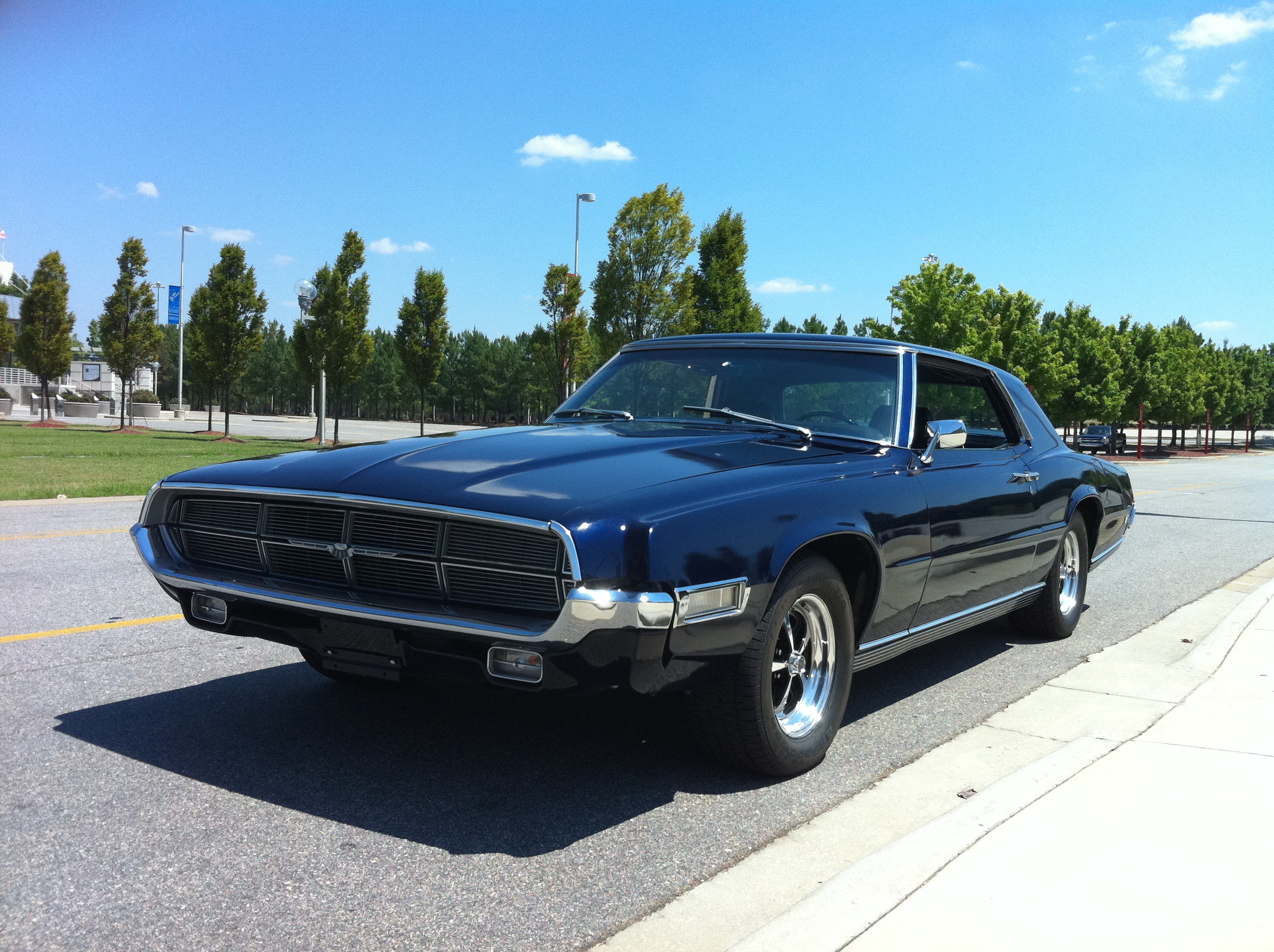 File 1969 Ford Thunderbird Front Driver Side View Jpg