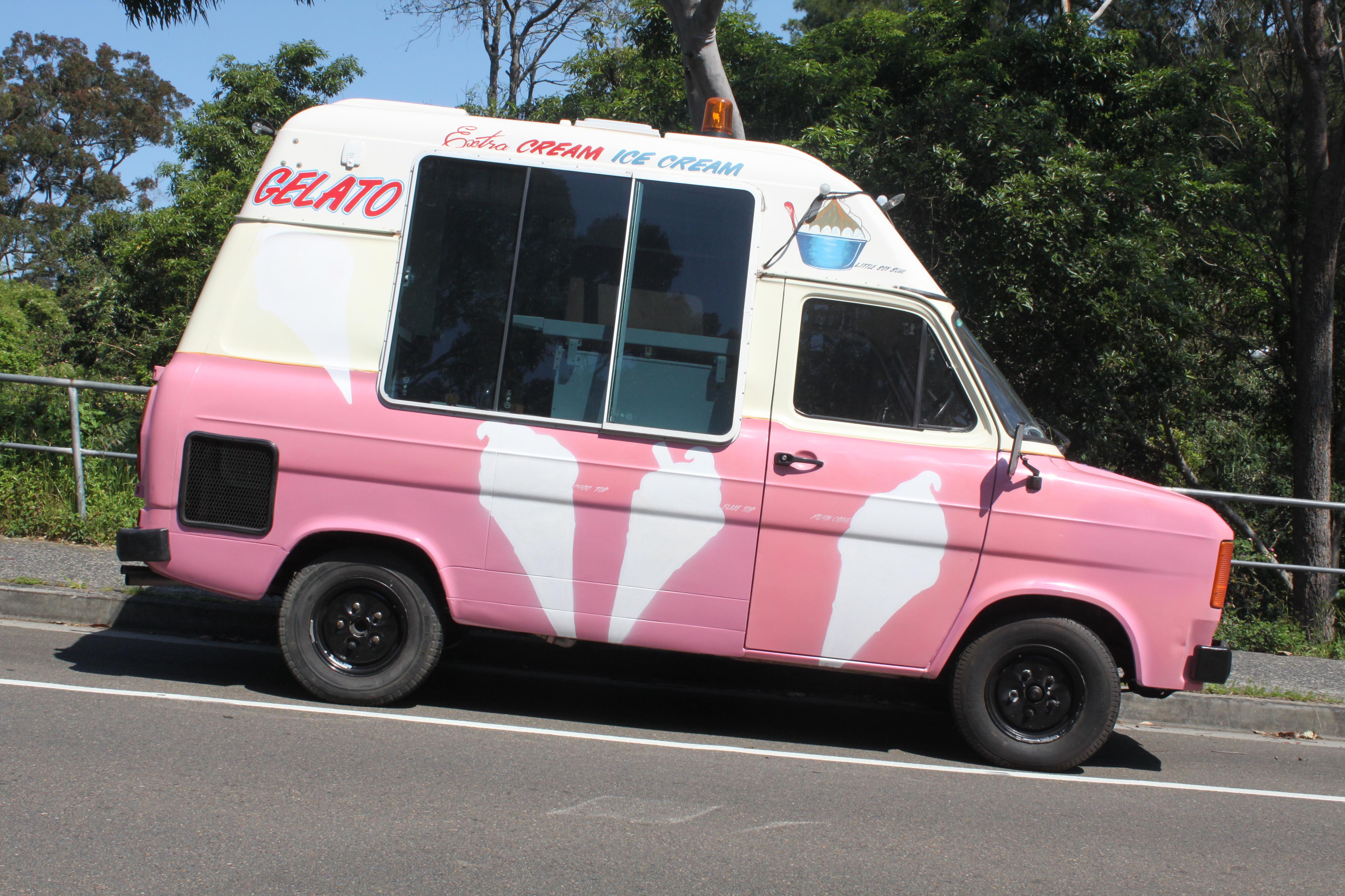 File1978 Ford Transit Van Ice Cream Conversion 22407130895