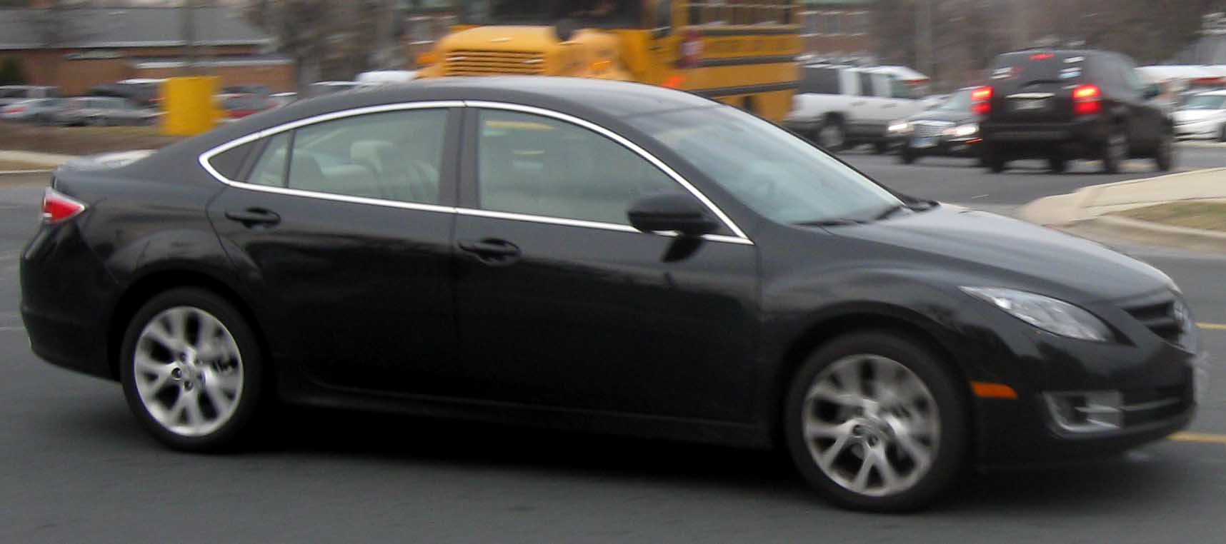 File 2009 Mazda6 Jpg Wikimedia Commons