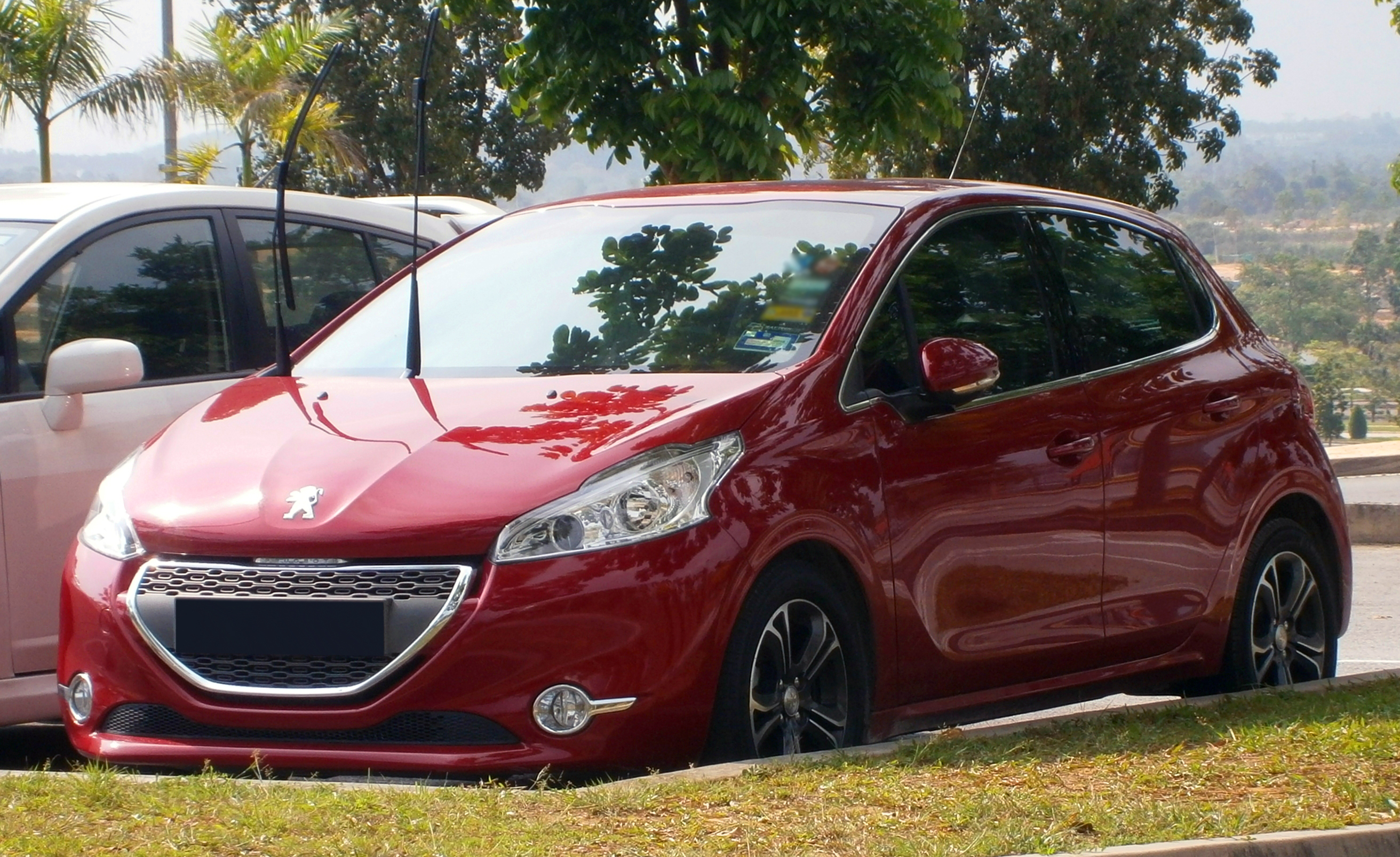 file 2013 peugeot 208 5 door in cyberjaya malaysia 01. Black Bedroom Furniture Sets. Home Design Ideas