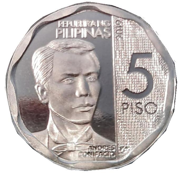 5 peso coin new