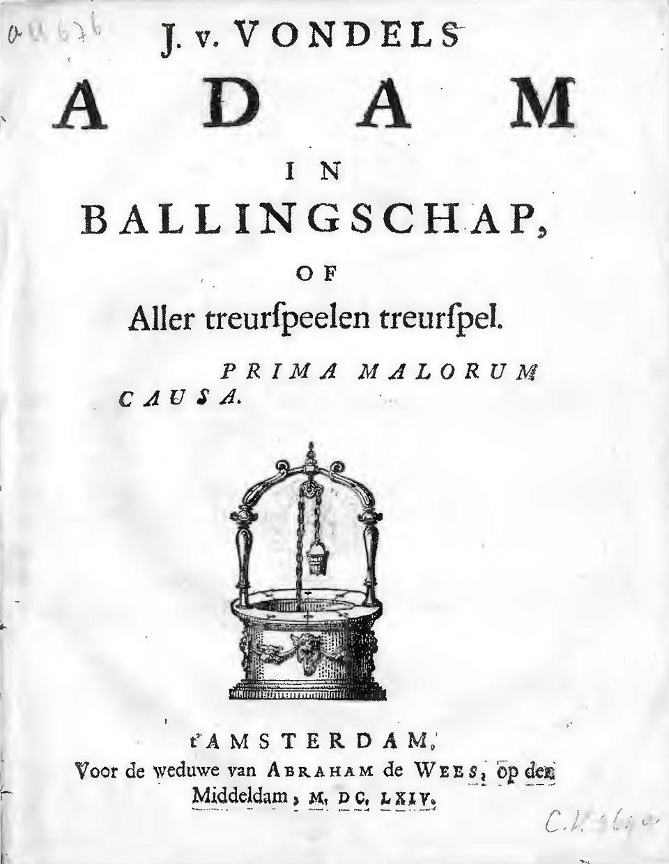 Adam In Ballingschap Wikipedia