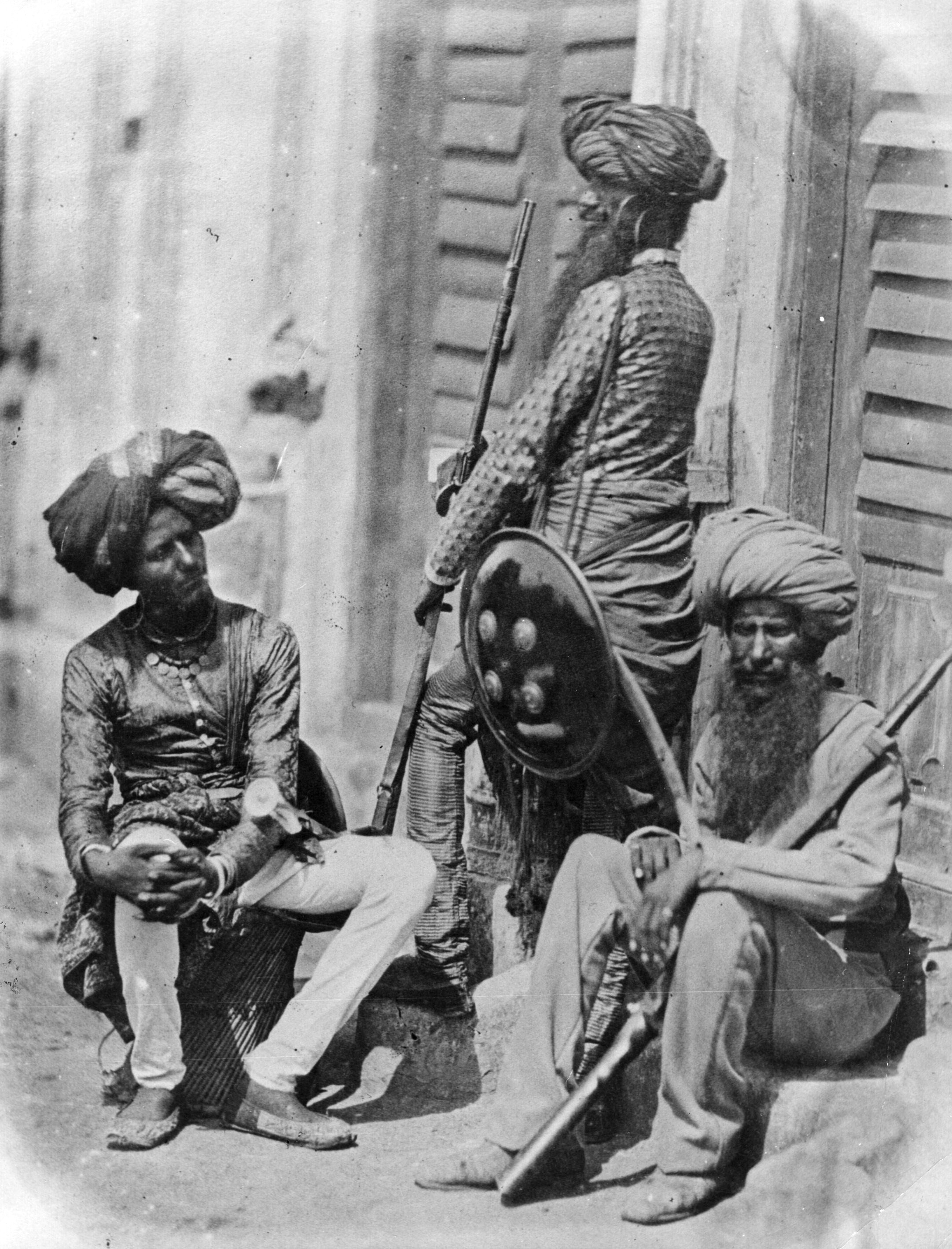 Image result for sikh soldier 1857