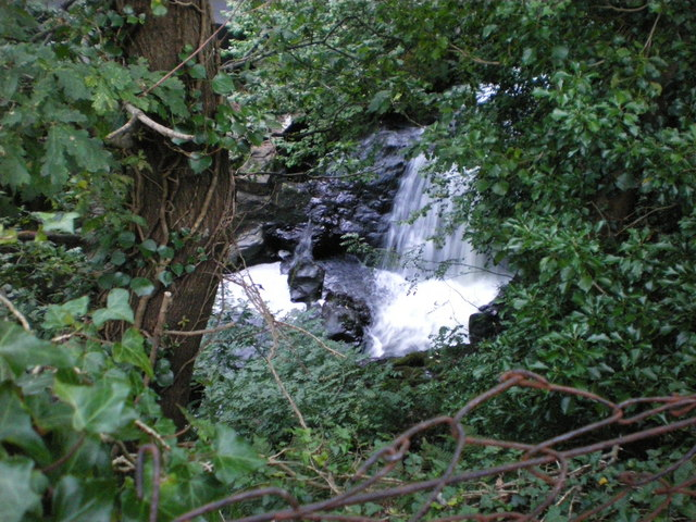 Afon Crafnant, near the Mill footbridge, Trefriw - geograph.org.uk - 1441886