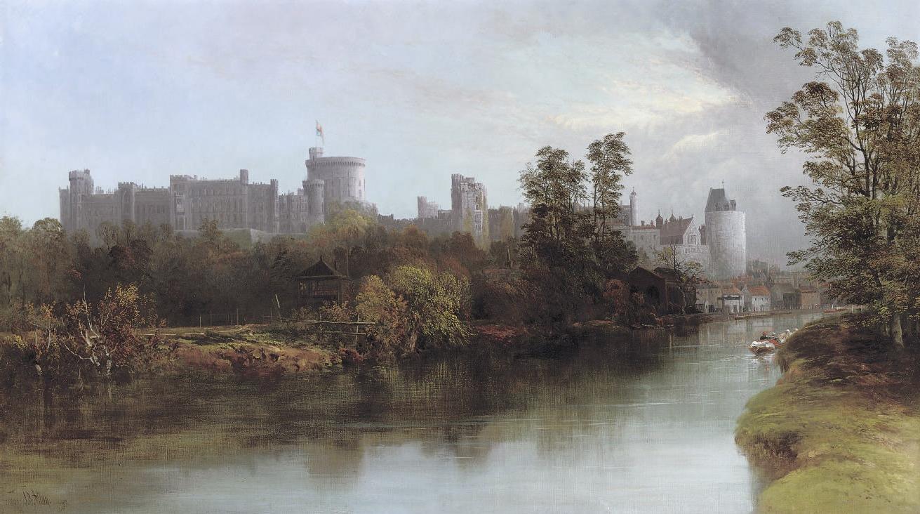 Oil Paintings By Magdalene Jourdan  Woman Carrying Water