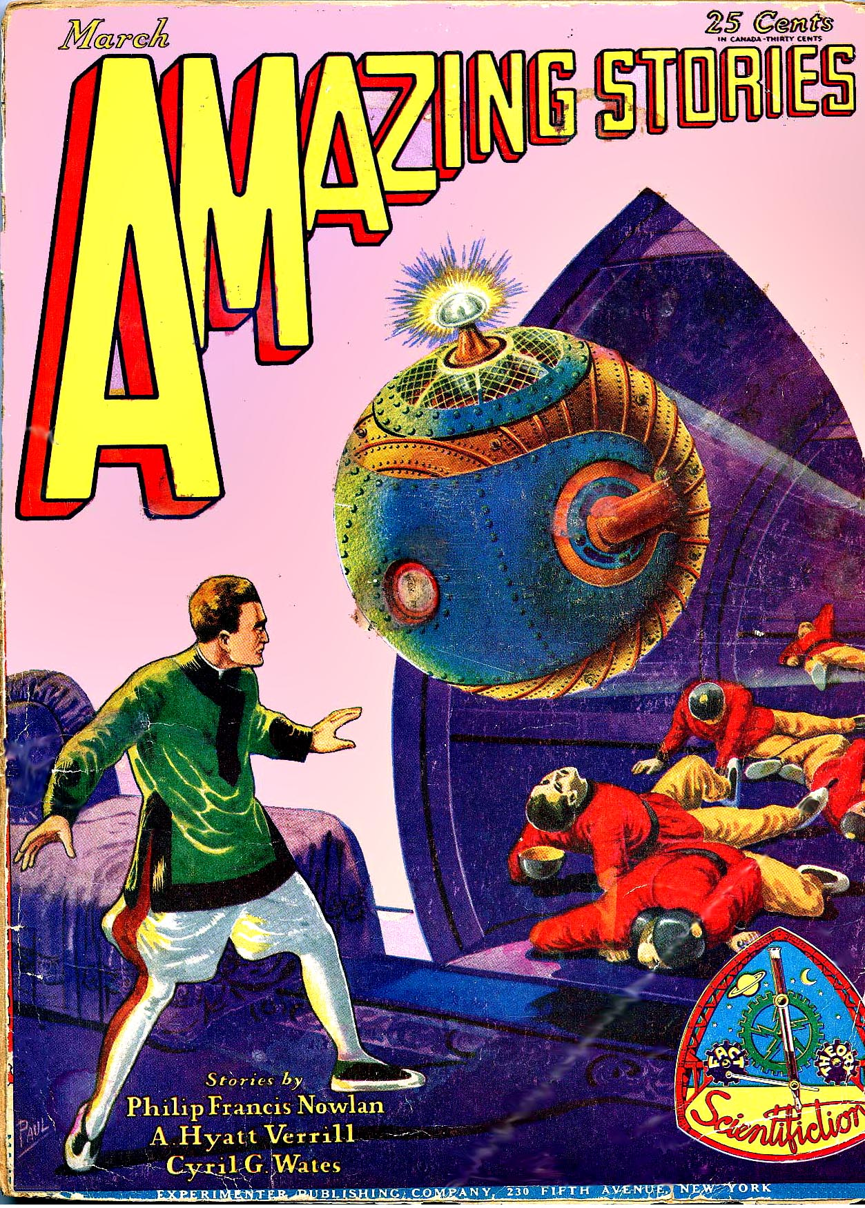 Amazing Stories Volume 21 Number 06: File:Amazing Stories March 1929.jpg