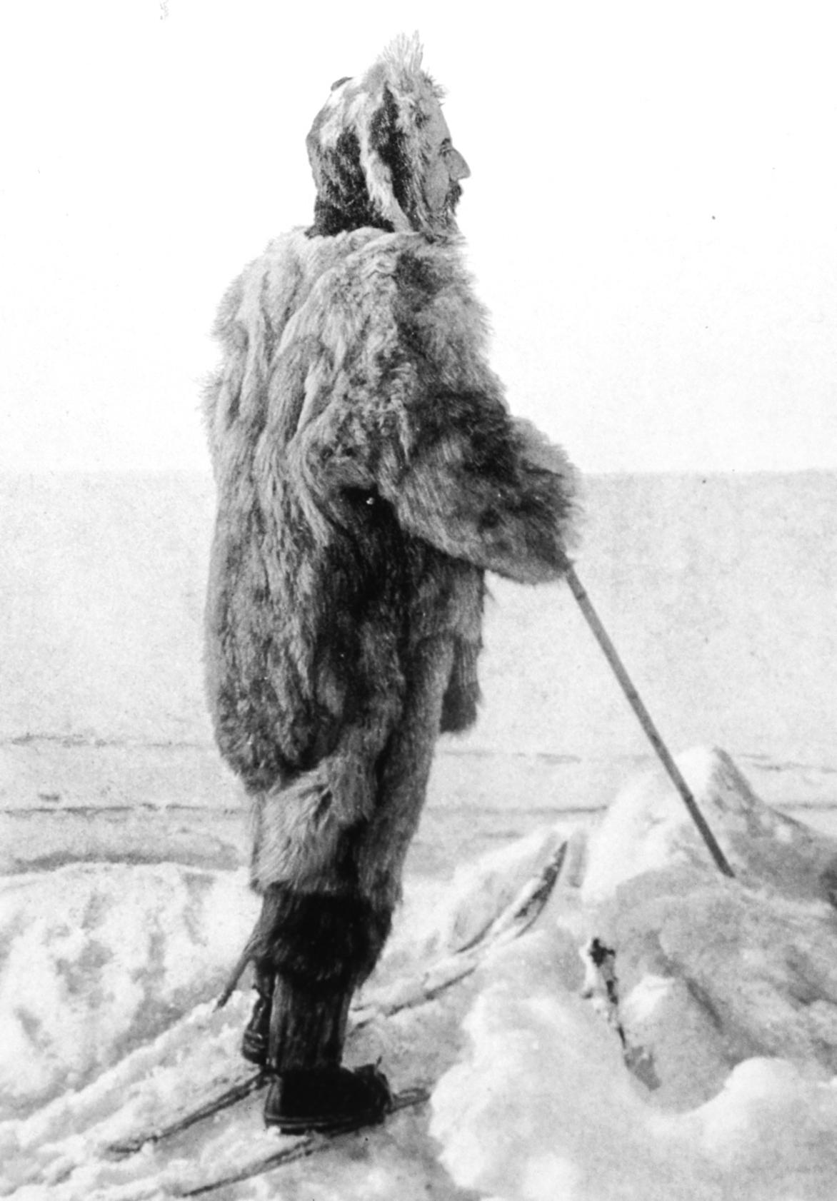 Roald Amundsen in Antarctica