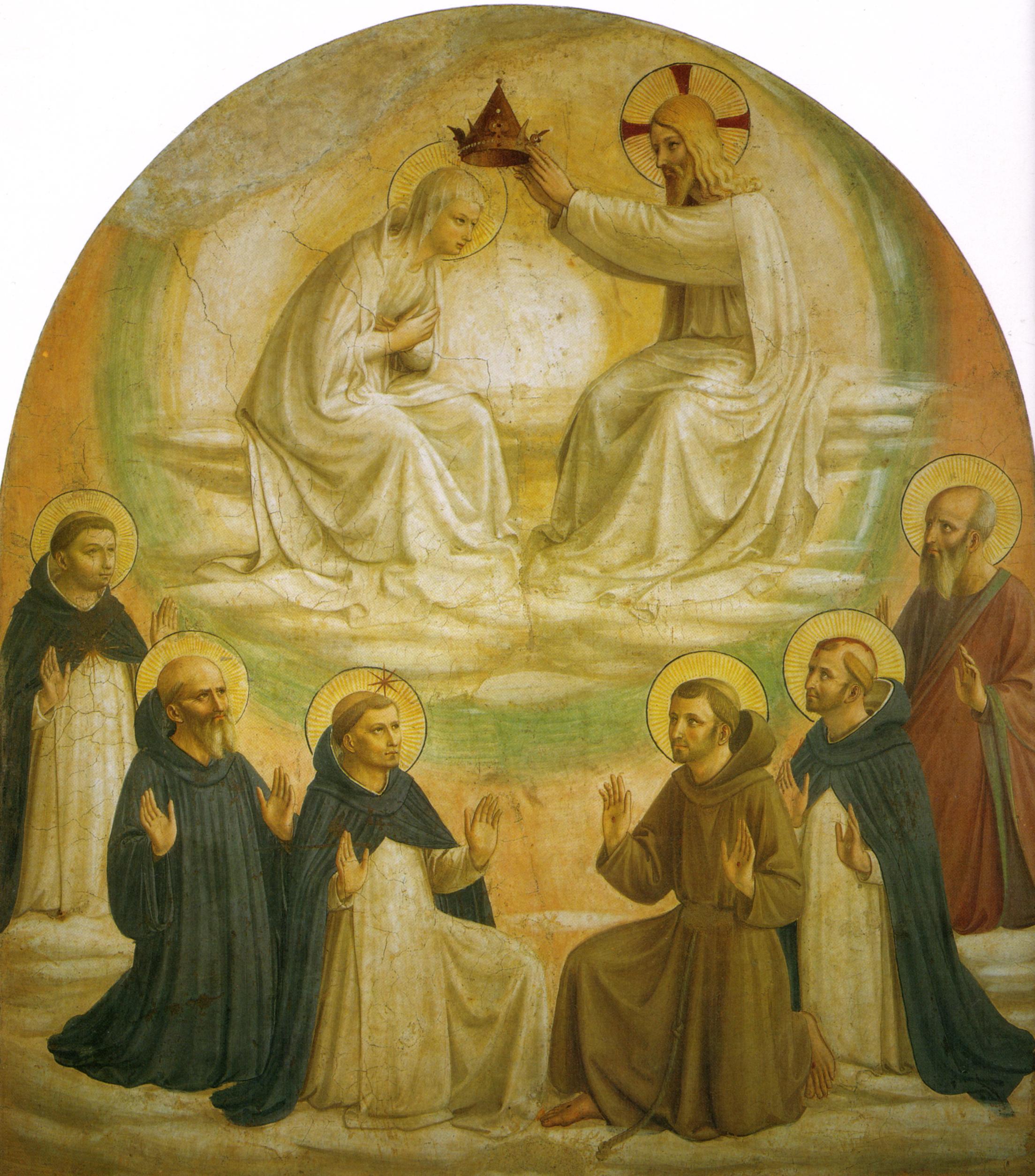 Fichier:Angelico, incoronazione della vergine 1440-1441.jpg — Wikipédia