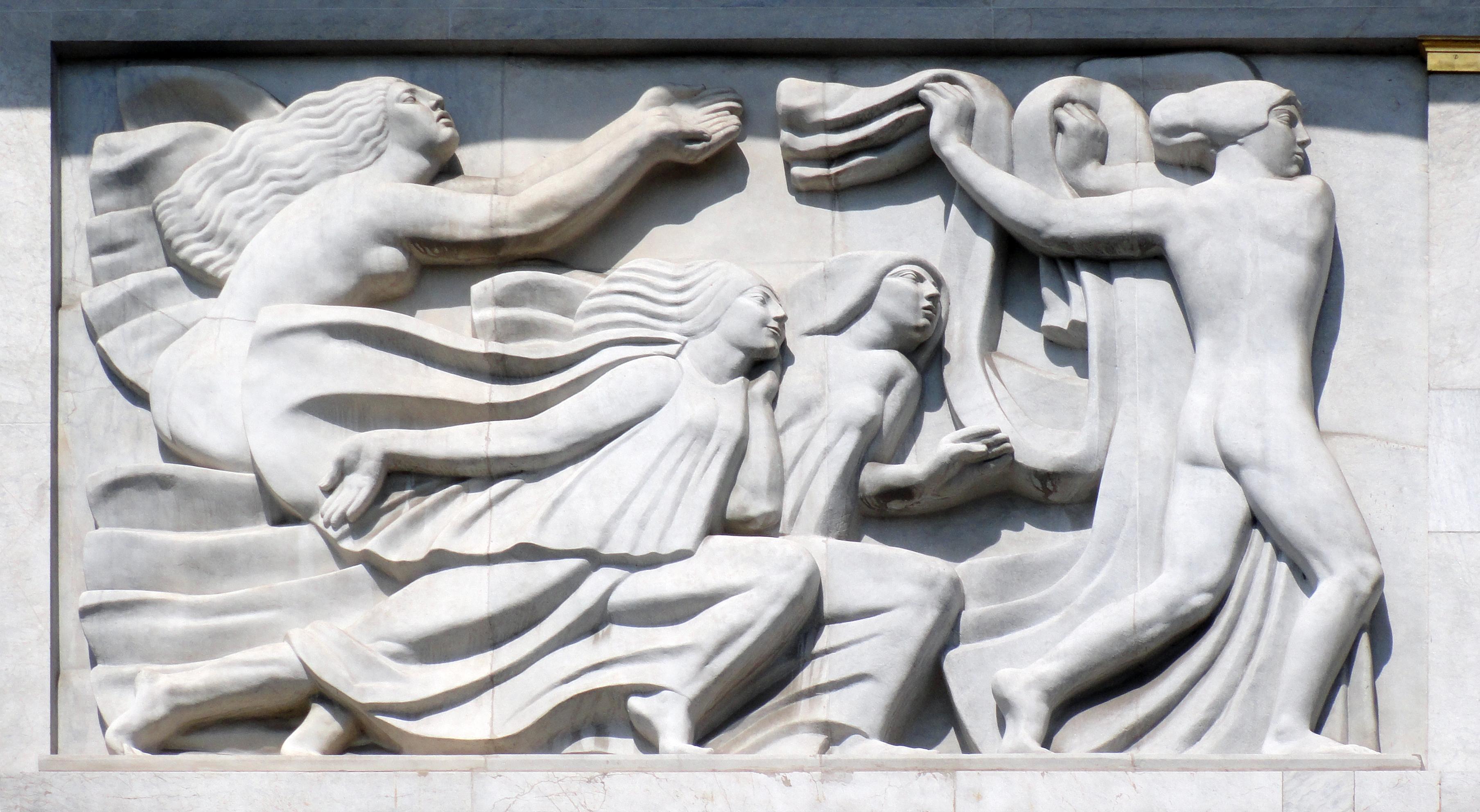 File:Antoine Bourdelle, 1910-12, Apollon et sa méditation entourée ...