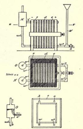 File:Apparato di Schmidt per l'elettrolisi dell'acqua.png