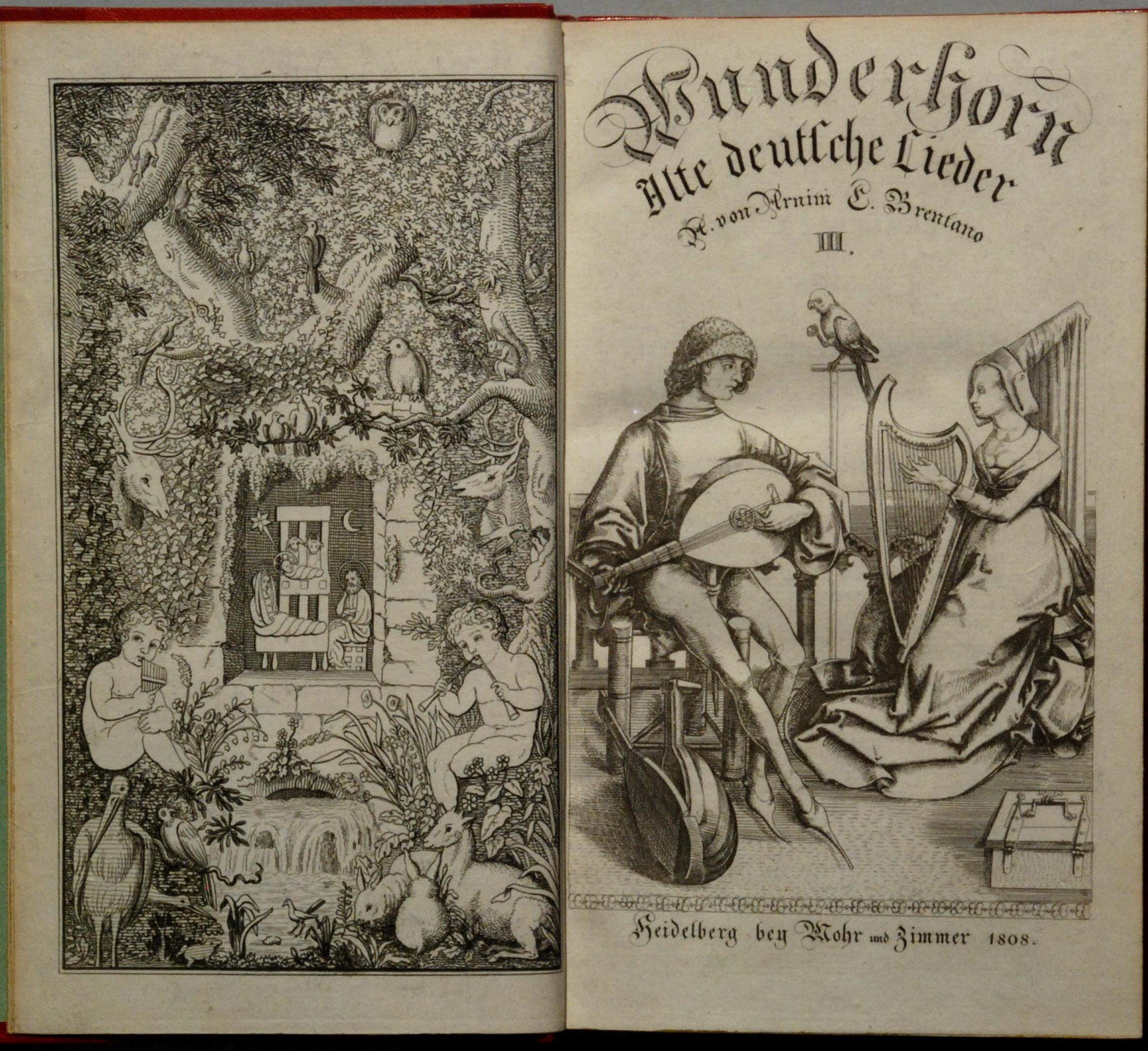 File Arnim Achim Von Und Clemens Brentano III 1808 Wikimedia