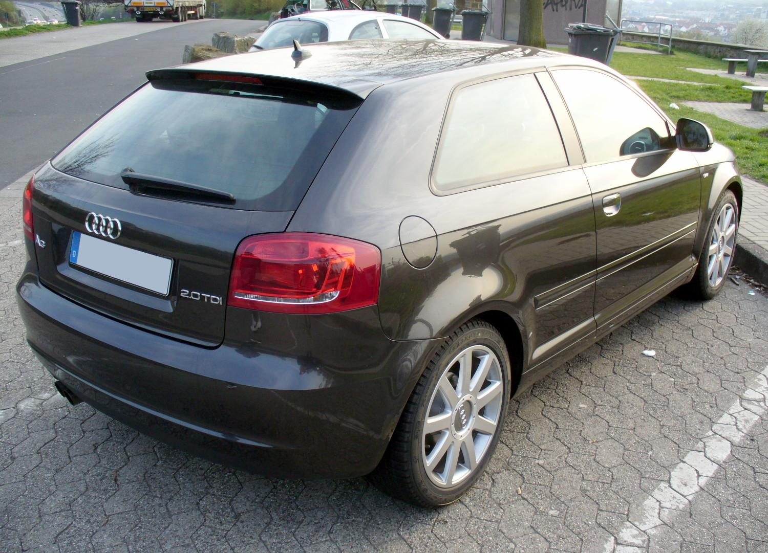 file audi a3 8p ambition s line 2 0 tdi lavagrau facelift. Black Bedroom Furniture Sets. Home Design Ideas