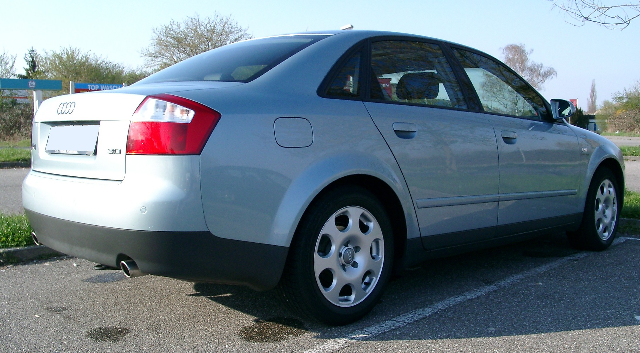 File Audi A4 B6 Rear 20070326 Jpg Wikimedia Commons