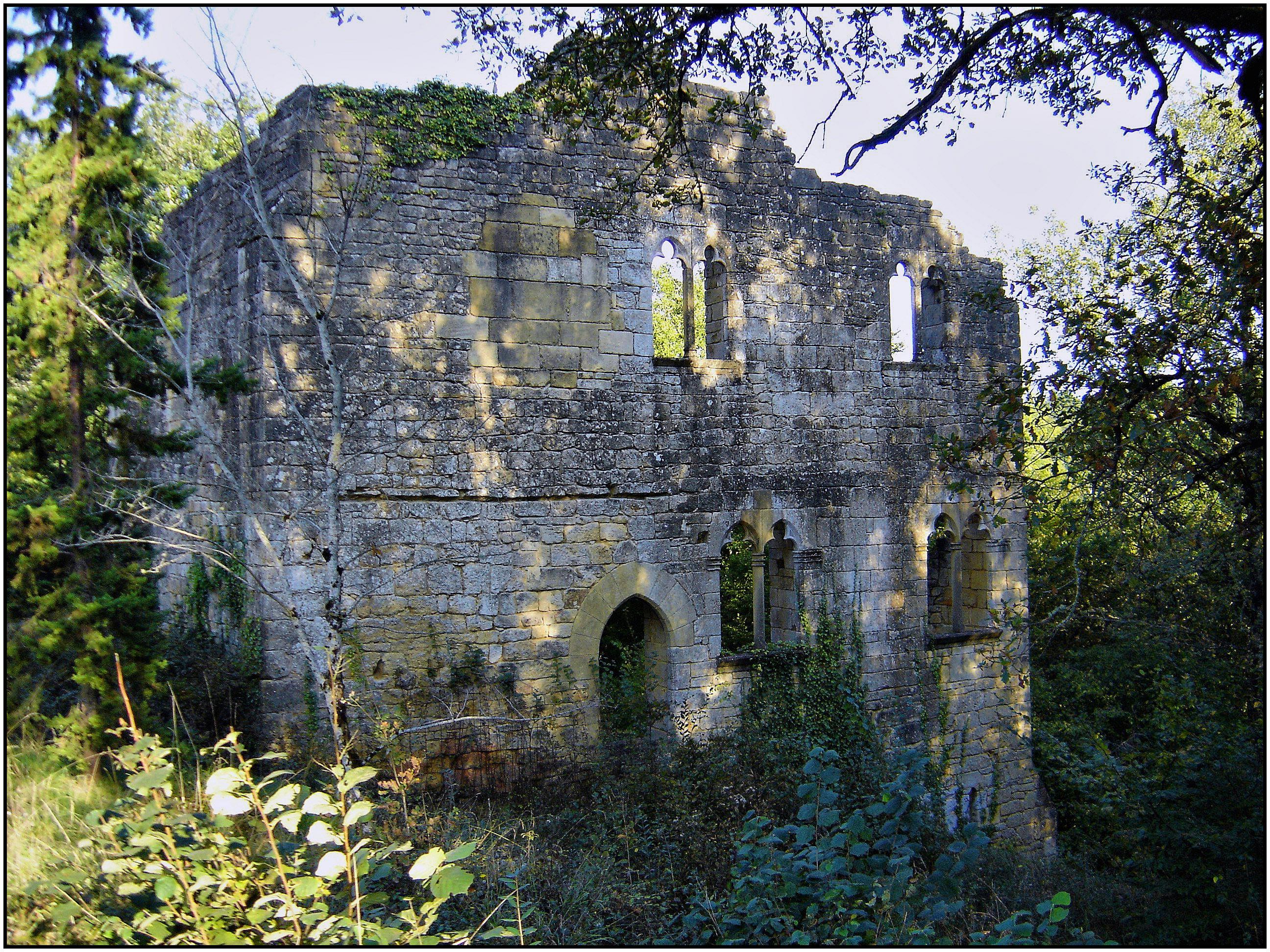 Руины древней обители Абрийак