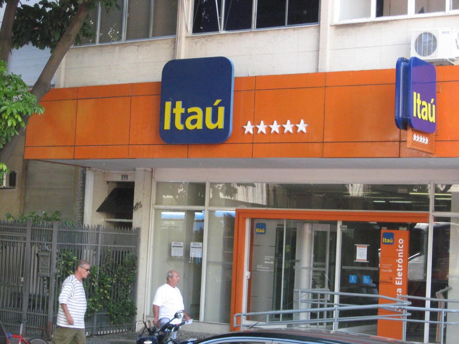 Resultado de imagem para BANCO ITAÚ