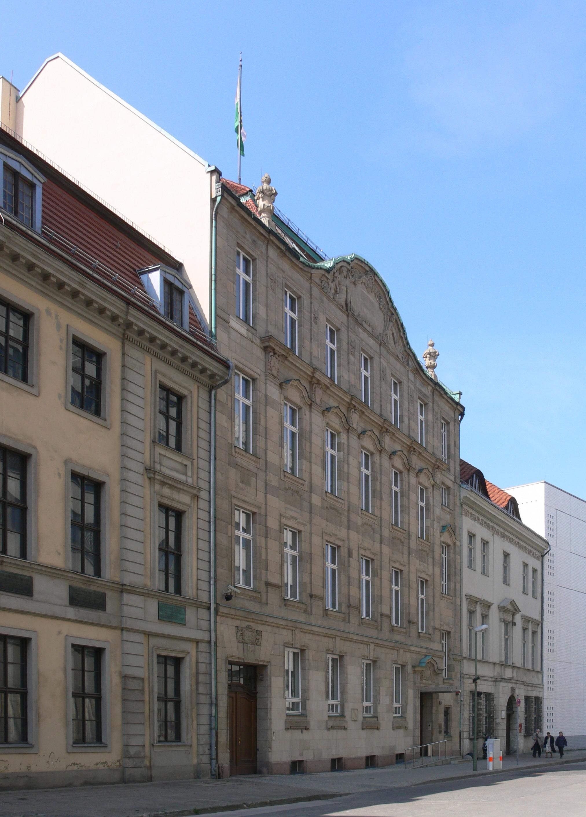 Landesvertretungen Berlin