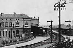 Herbesthal railway station railway station in Belgium