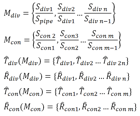reflection and transmission coefficients for step