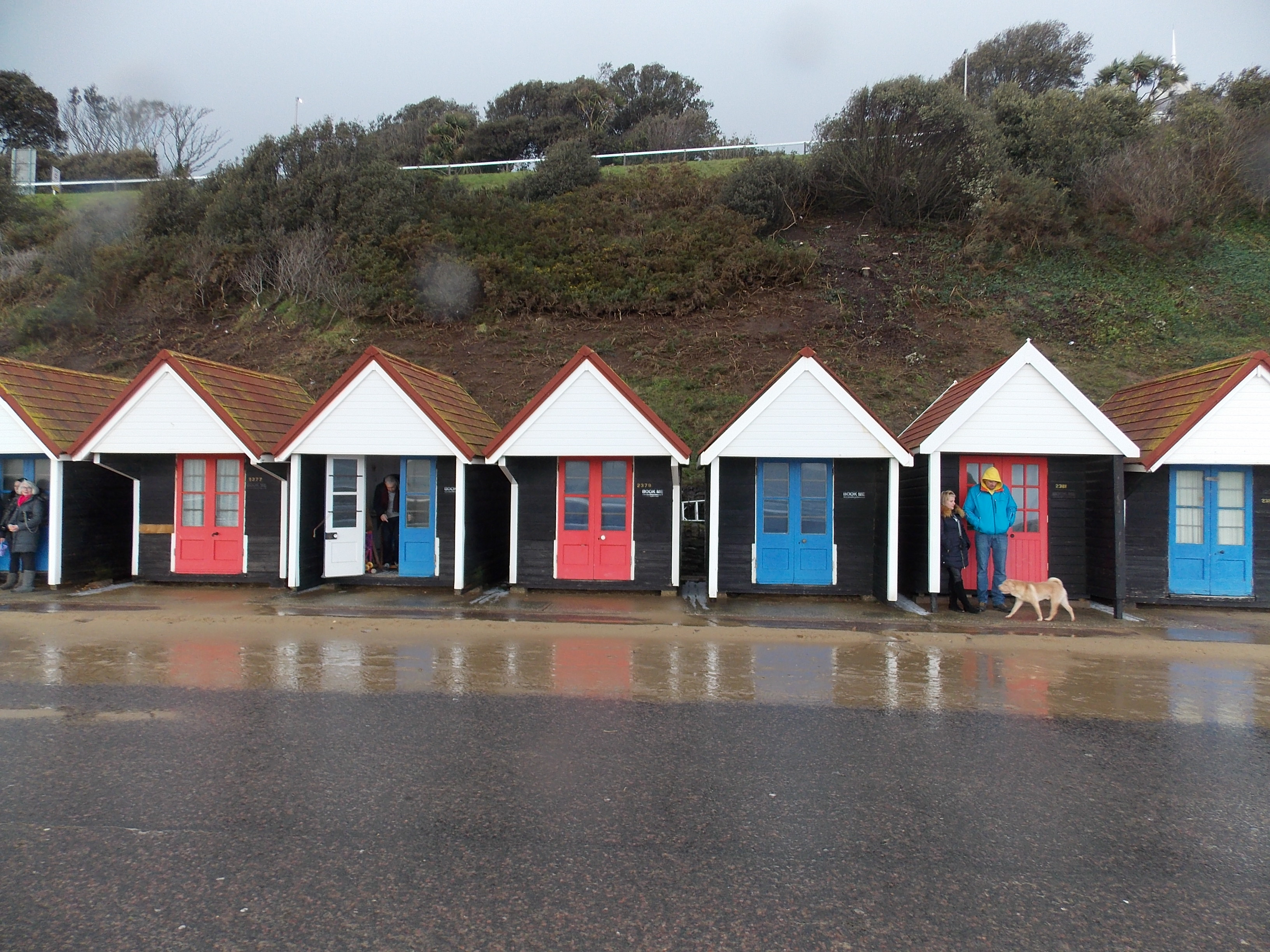 File Bournemouth Beach Huts Jpg