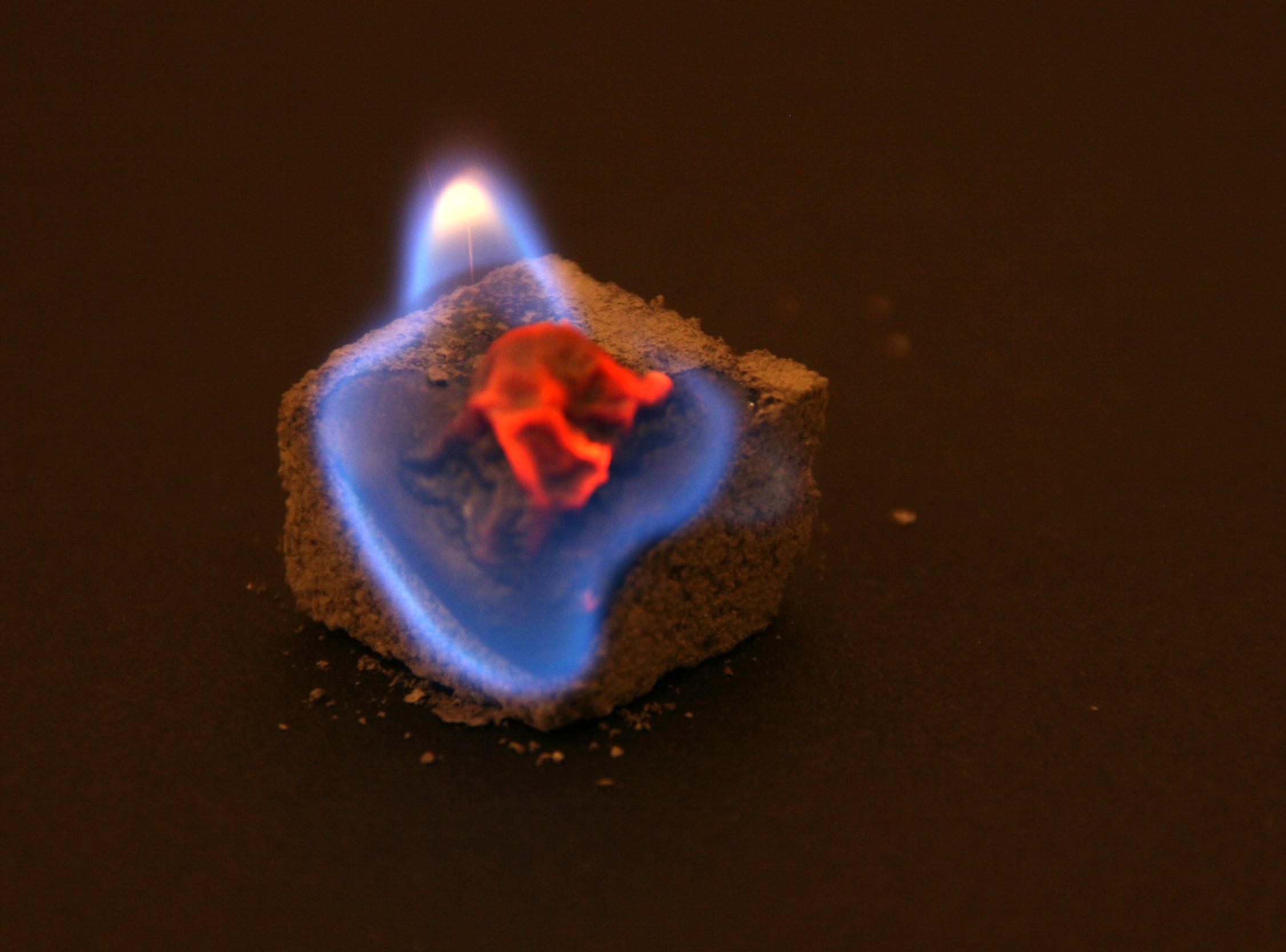 Burning sugar - MEL Chemistry