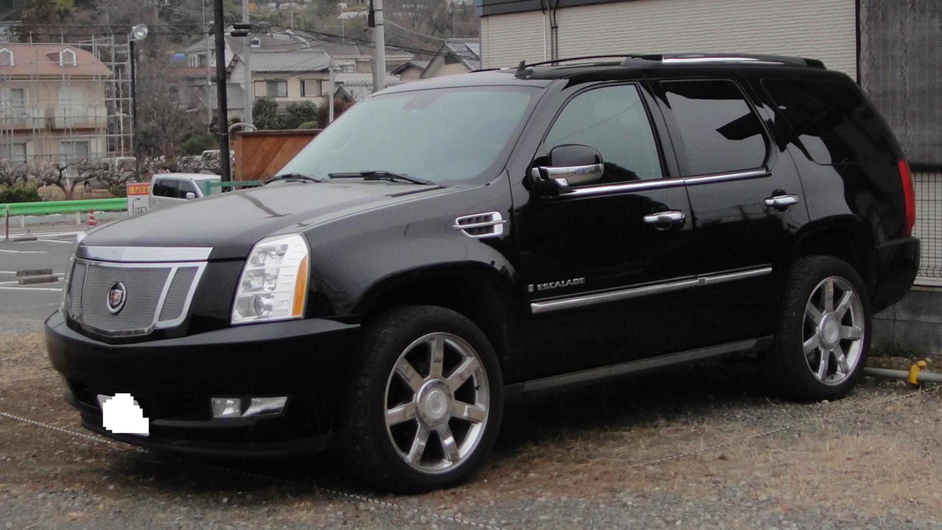 2012 Cadillac Escalade Platinum For Sale >> File:Cadillac Escalade-Tx-re.JPG
