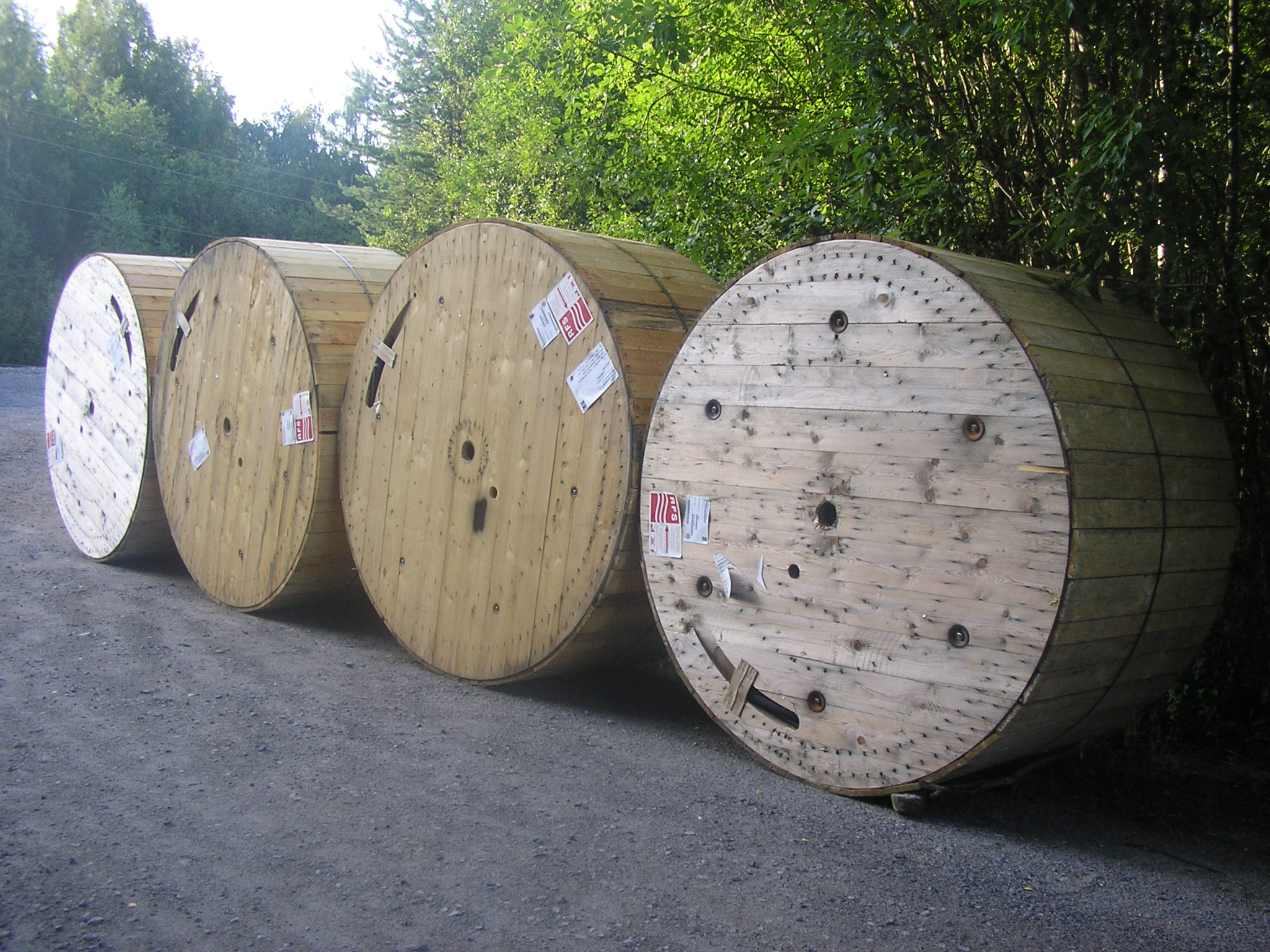 cable reels wood - HD2048×1536