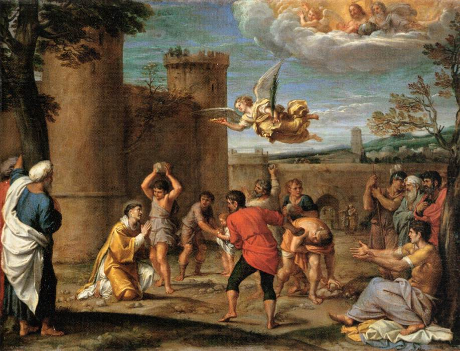 Image result for image of stoning of stephen