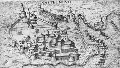 Depiction of Sitio de Castelnuovo