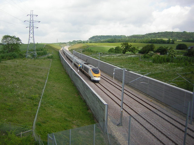 File:Channel Tunnel Rail Link near Boarley Farm - geograph.org.uk - 777007.jpg