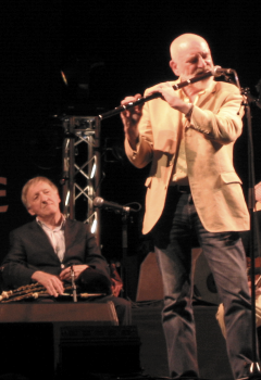 The Chieftains performing at the InterCeltic F...