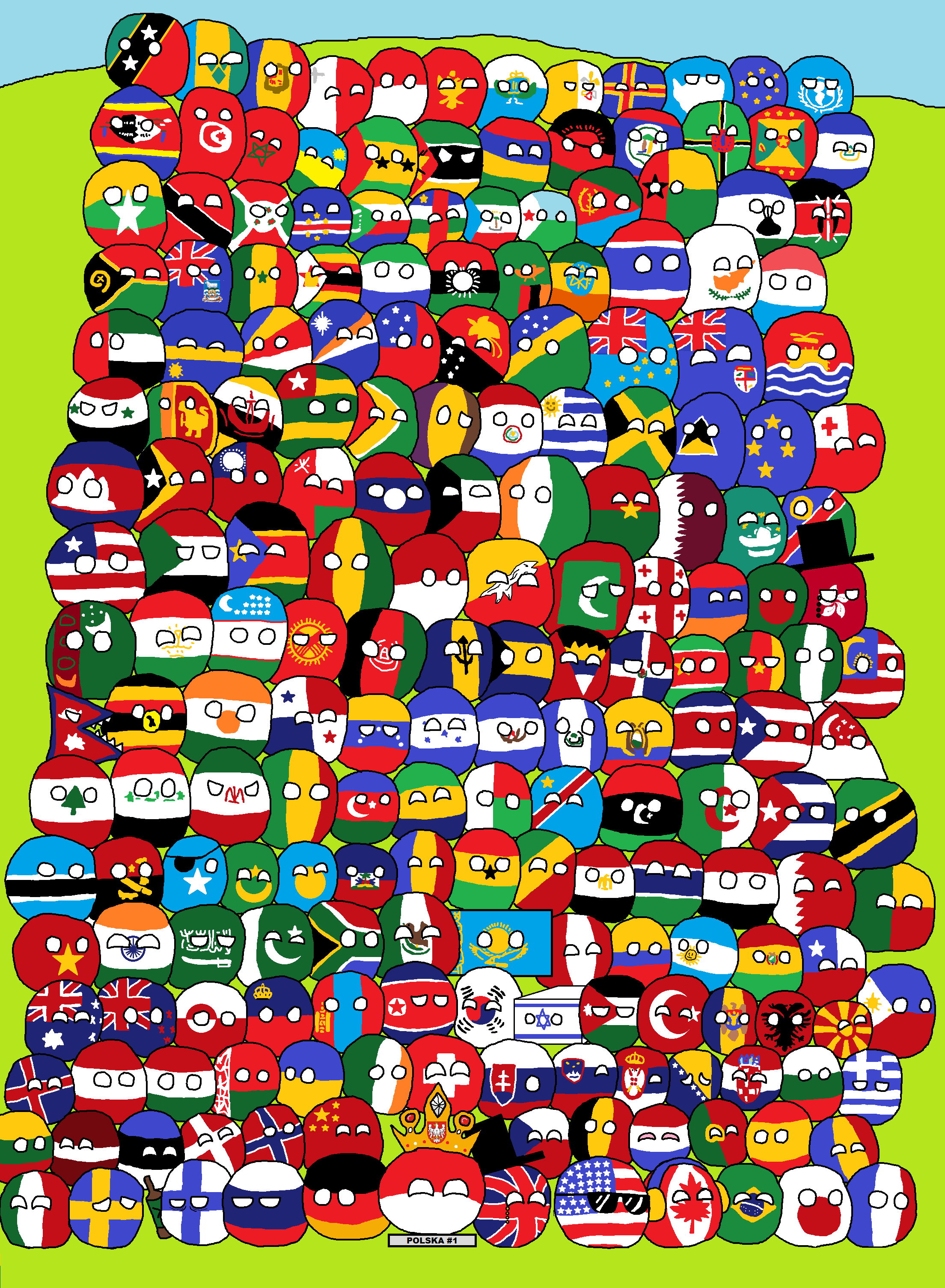 Description countries of the world polandball