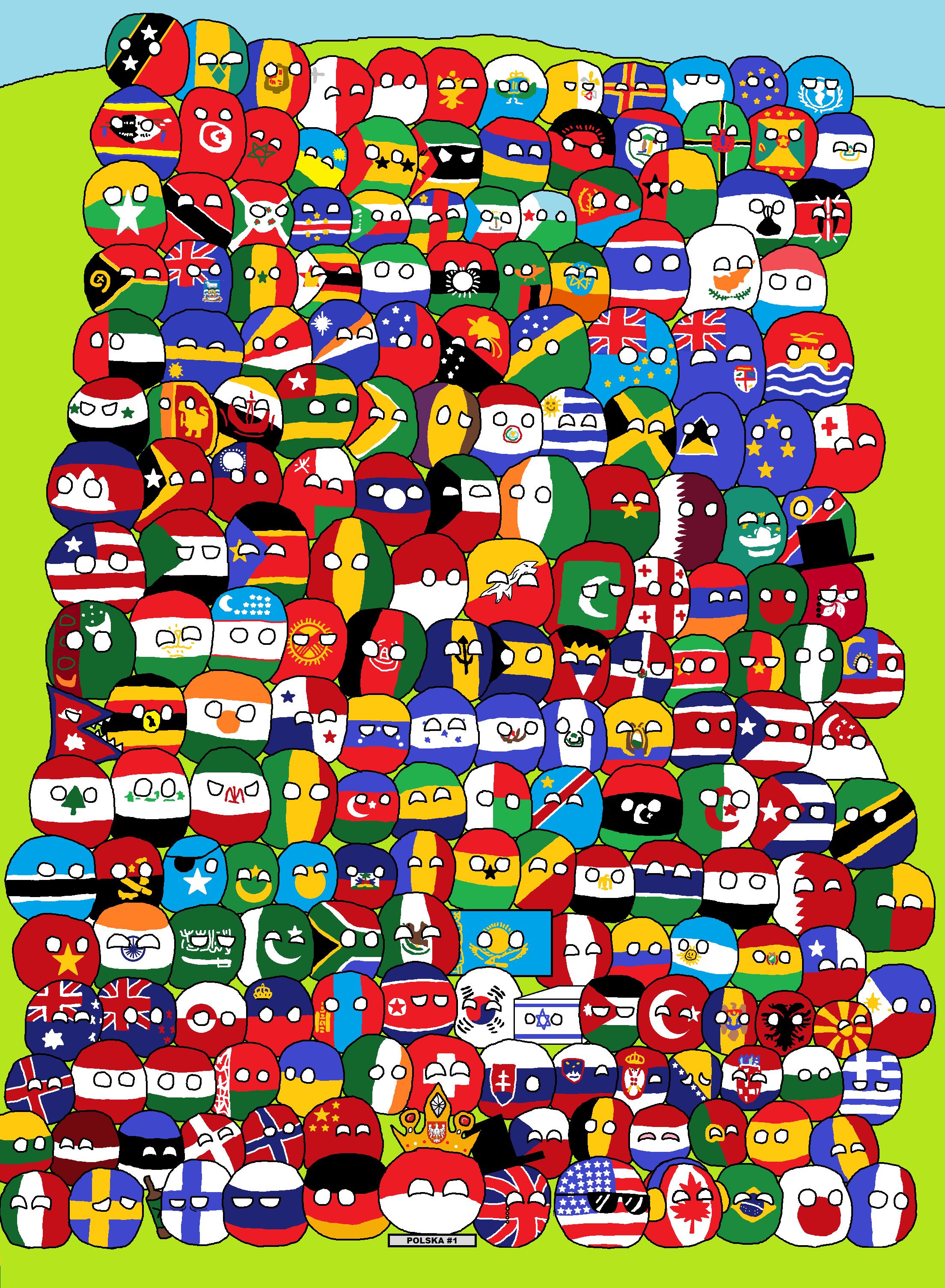 Description countries of the world polandball