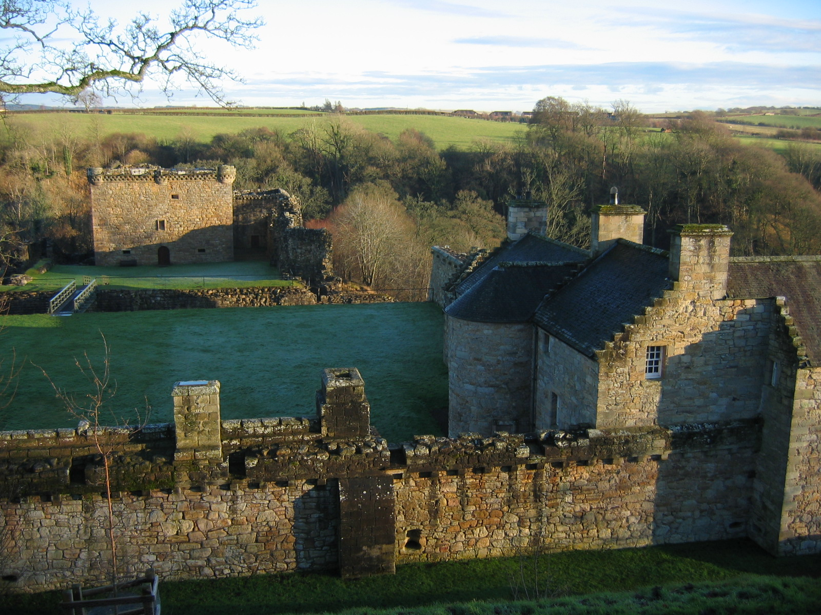 Craignethan Castle - Wikipedia