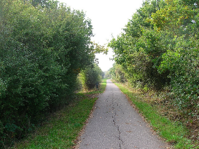 Cuckoo Trail between Polegate and Hailsham - geograph.org.uk - 62562
