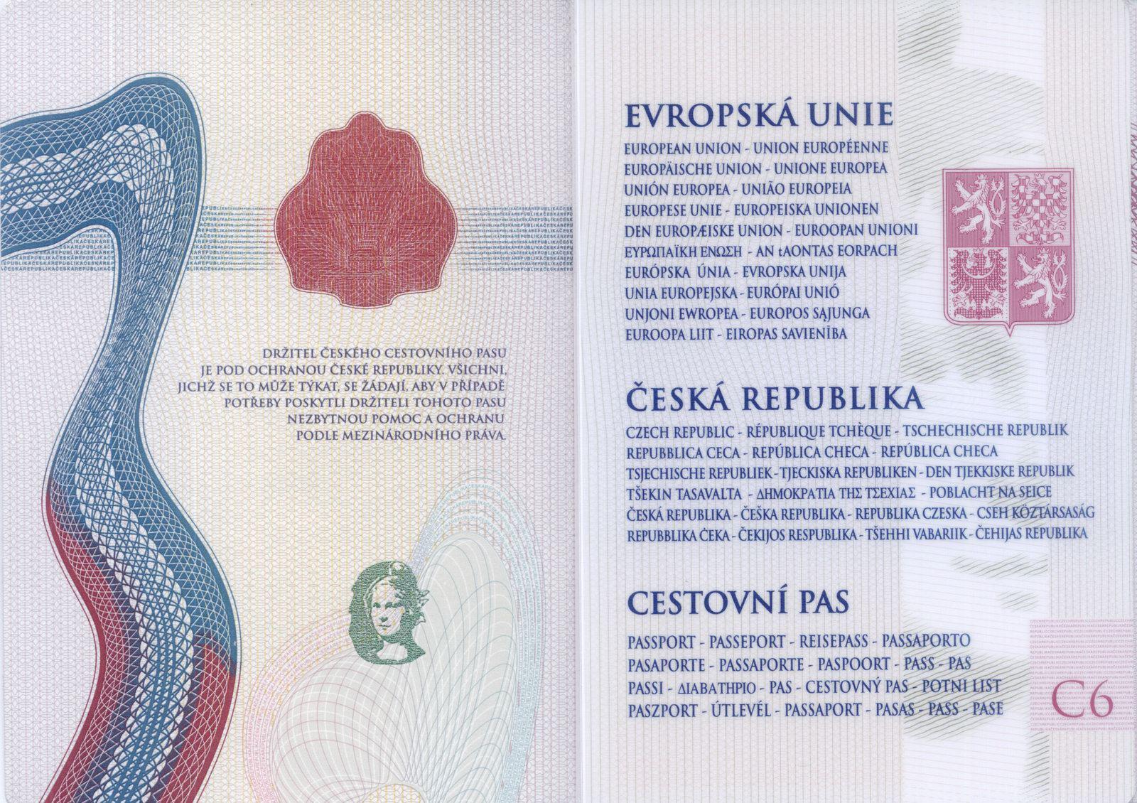 Czech Republic Passport