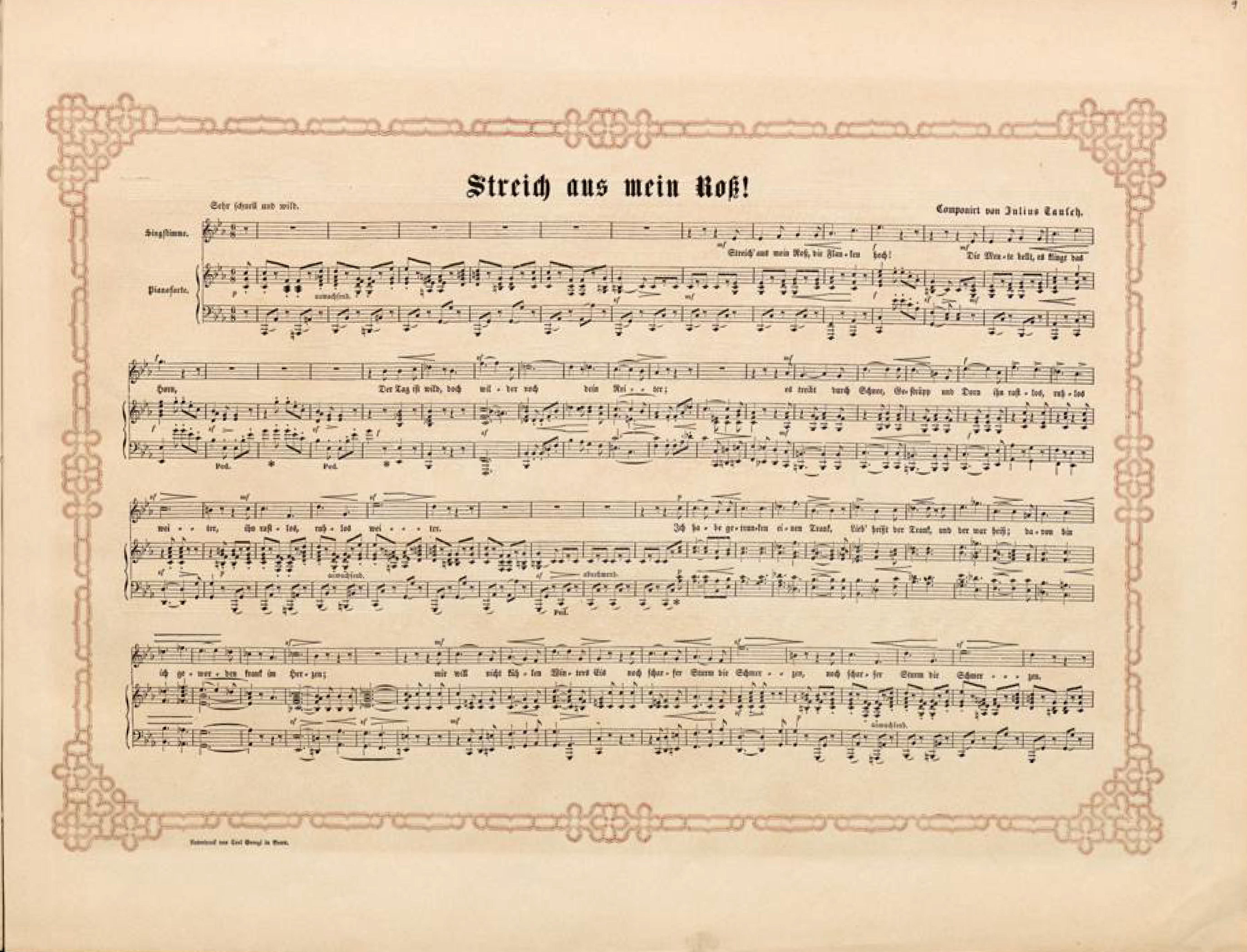 Filedüsseldorfer Lieder Album Arnz Co 1851 S 19