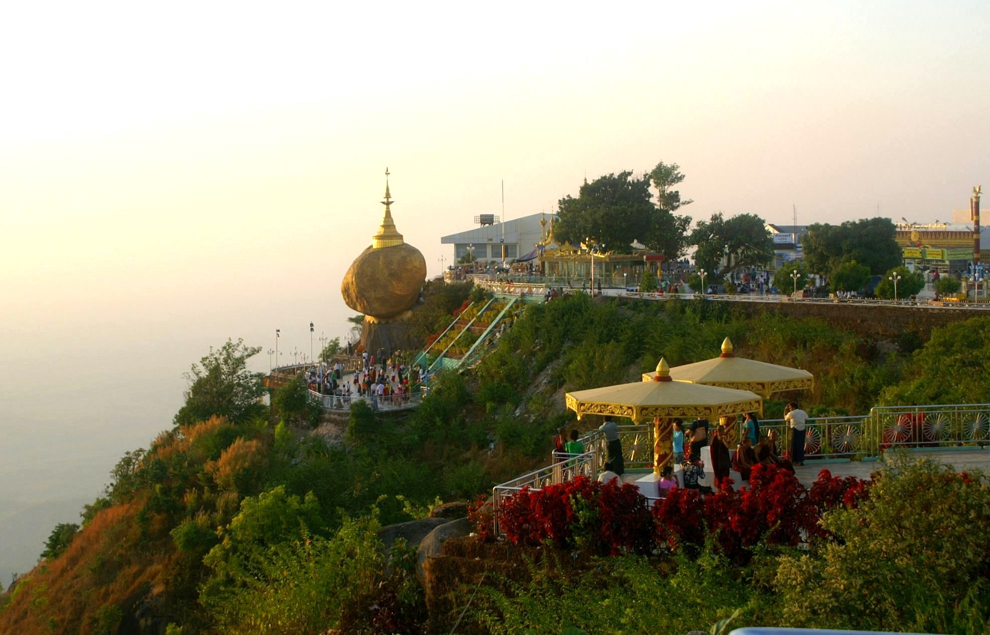 File:DSC036 Burma Mount Kyaikhtiyo Golden Rocks Temple (7215562660 ...