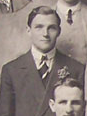 Dyne Fenton Smith with the British Isles team in 1910