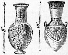 EB1911 Ceramics Fig. 8.—Egyptian pottery with painted ornament and sham marbling.jpg