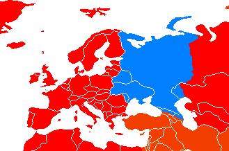Eropa Timur Gambar Peta Benua Eropa Eropa Timur Wikipedia Bahasa Indonesia Ensiklopedia Bebas