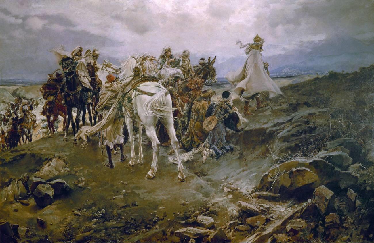 L'addio di Boabdil a Granada e l'Alhambra, l'ultima roccaforte dell'impero arabo