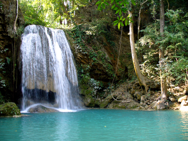 Kanchanaburi Thailand  City pictures : Erawan National Park, Kanchanaburi, Thailand 355632006 ...