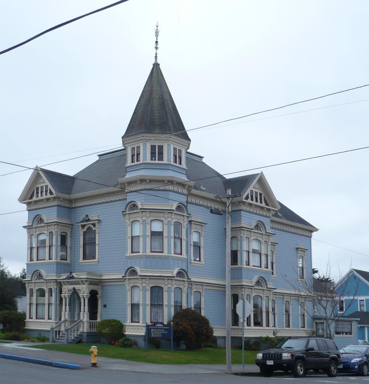 File eureka ca simpsonvance wikimedia commons for Eureka house