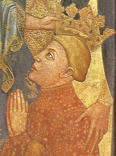 Coronación de Fernando I de Aragón.