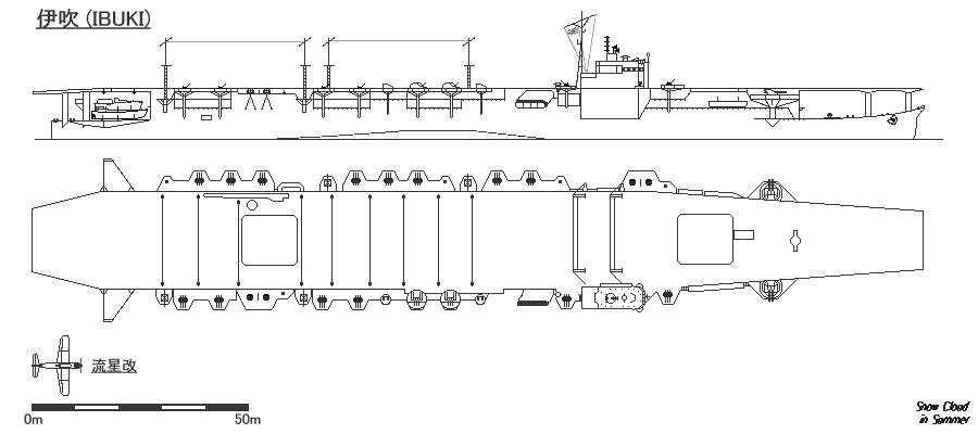 Blueprint de l'Ibuki