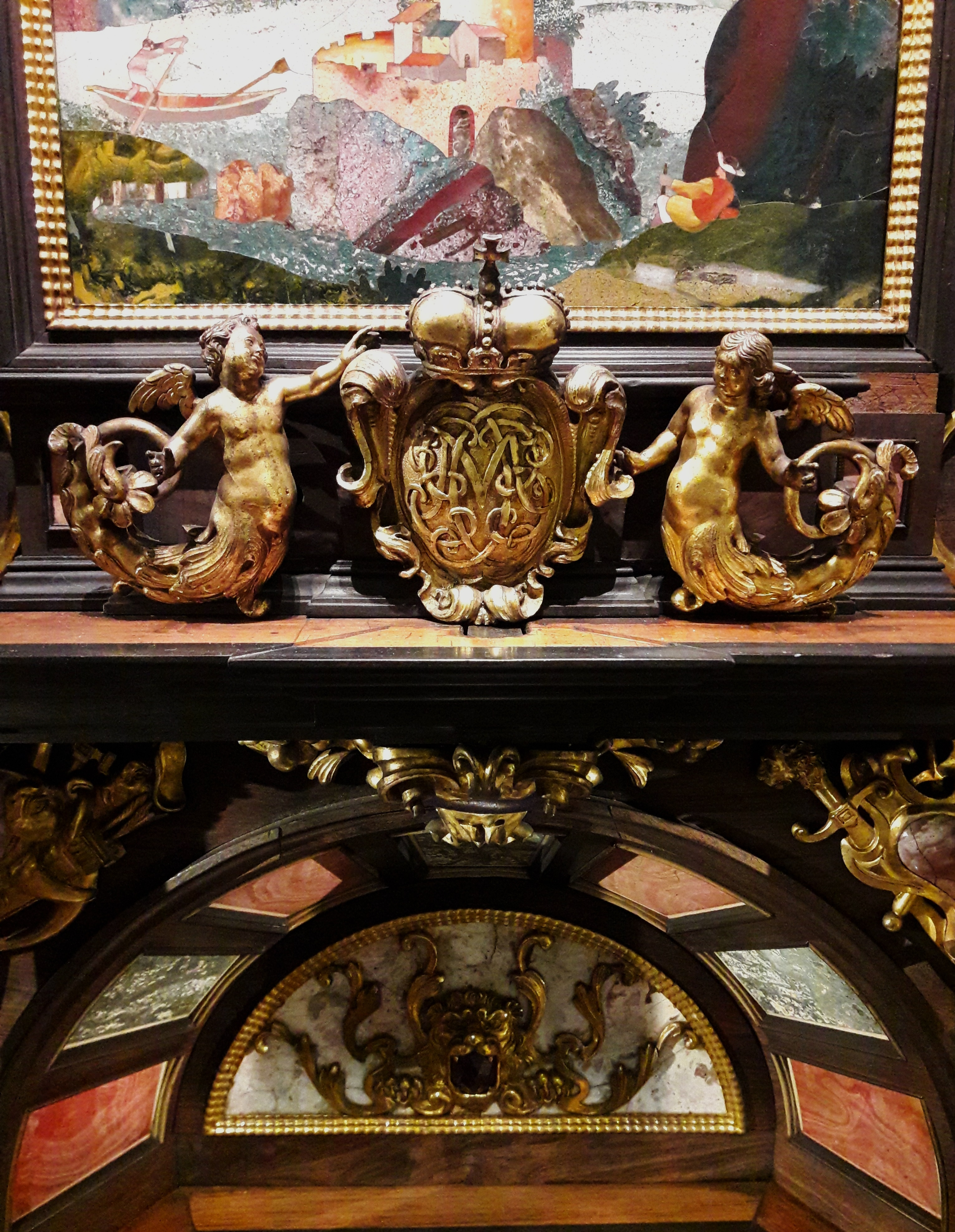 File:Florence Pietra Dura Cabinet With Triumphal Arch (detail) 02