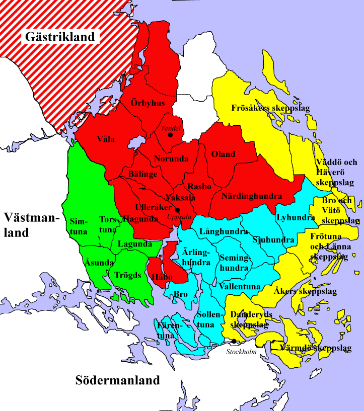 Roslagen Wikipedia - Sweden map wiki