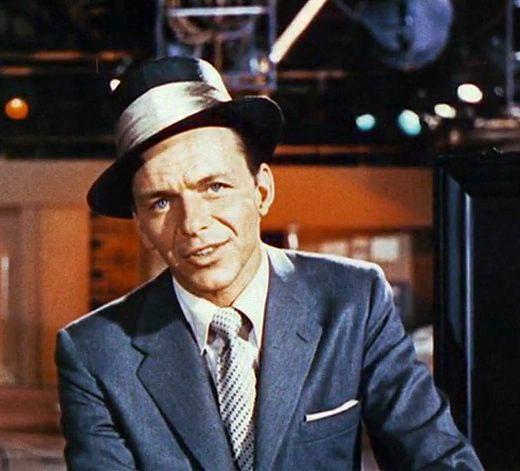 Depiction of Frank Sinatra