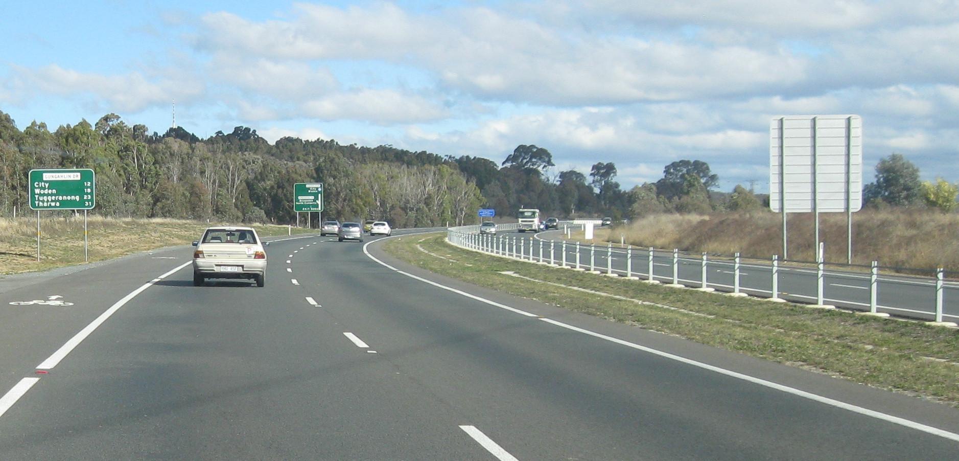 Gungahlin Drive Extension - Wikipedia