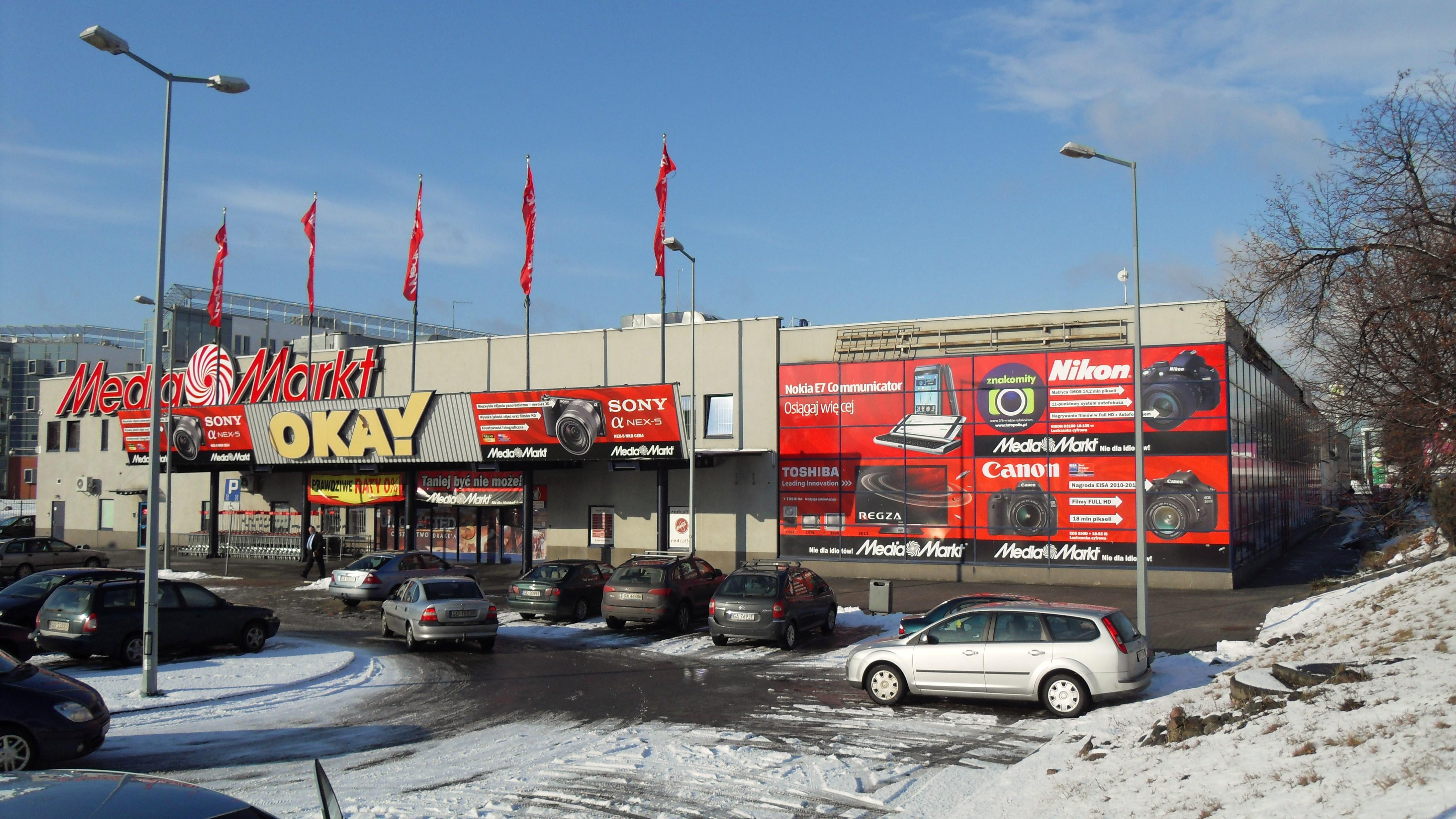 FileGdańsk aleja Grunwaldzka 270 Media Marktjpg  ~ Geschirrspülmaschine Media Markt